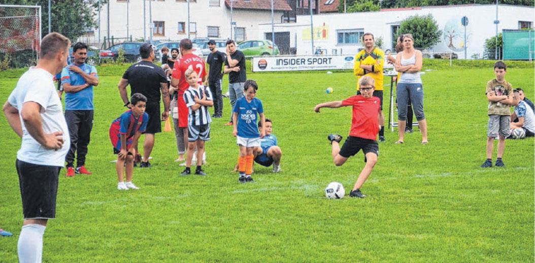 Beim Sommerfest des TSV Boll im Juli waren Spiel und Spaß Trumpf.