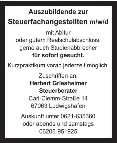 Herbert Griesheimer Steuerberater