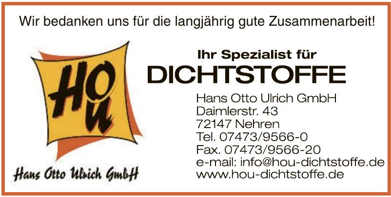 Hanz Otto Ulrich GmbH