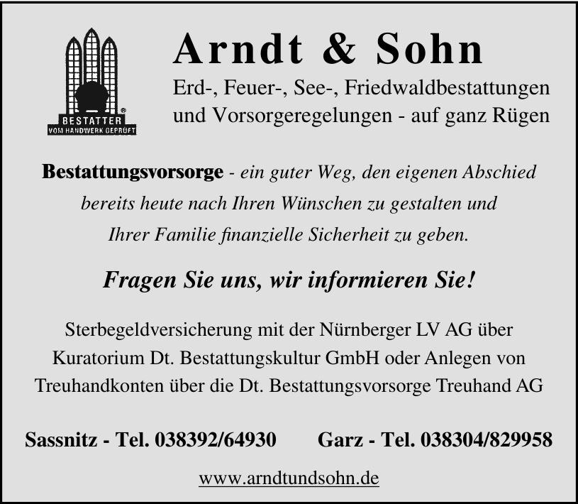 Arndt & Sohn