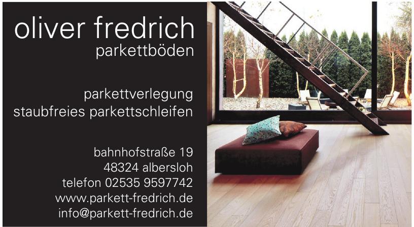 Oliver Fredrich Parkettböden