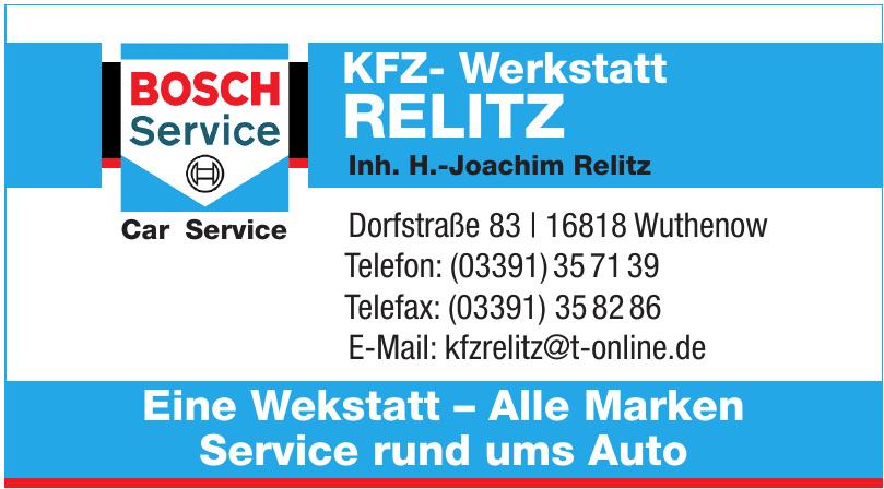 KFZ- Werkstatt Relitz