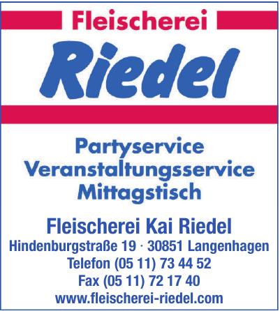 Fleischerei Riedel