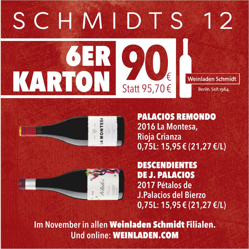 Weinladen Schmidt