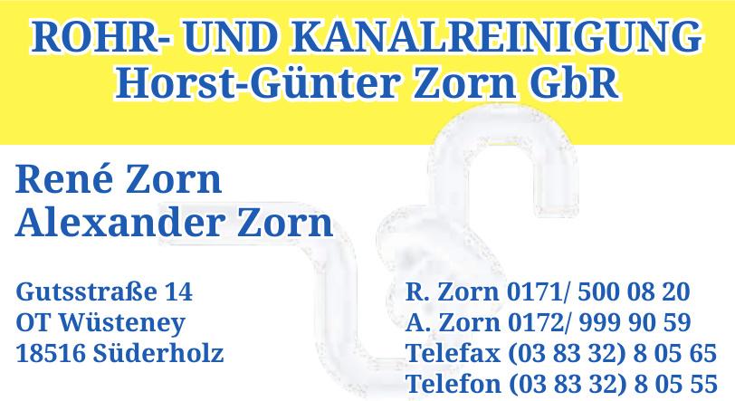 Horst-Günter Zorn GbR