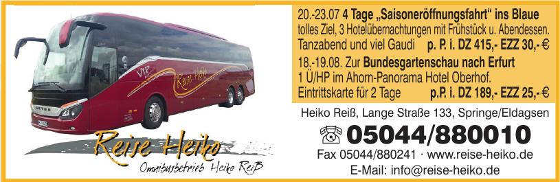 Reise-Heiko
