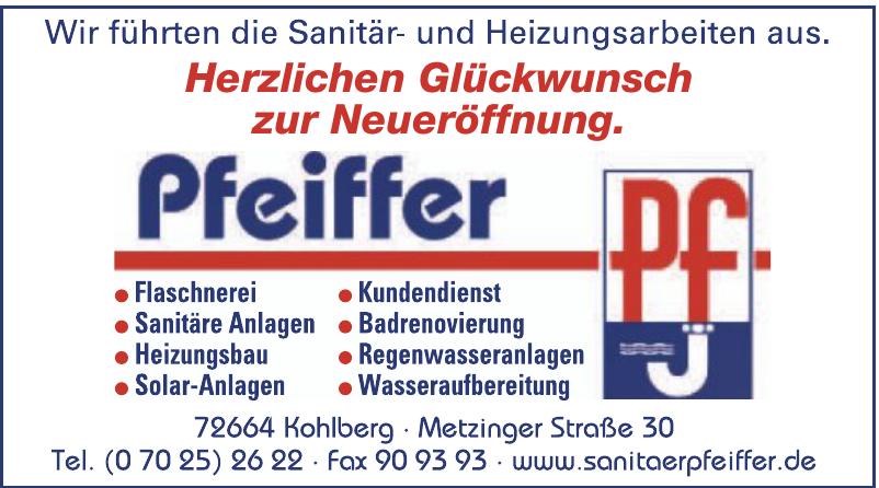 Sanitär Pfeiffer