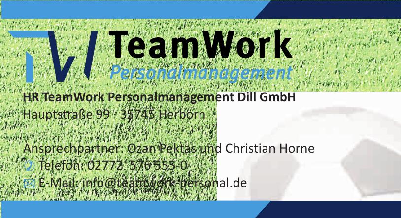 HR TeamWork Personalmanagement Dill GmbH