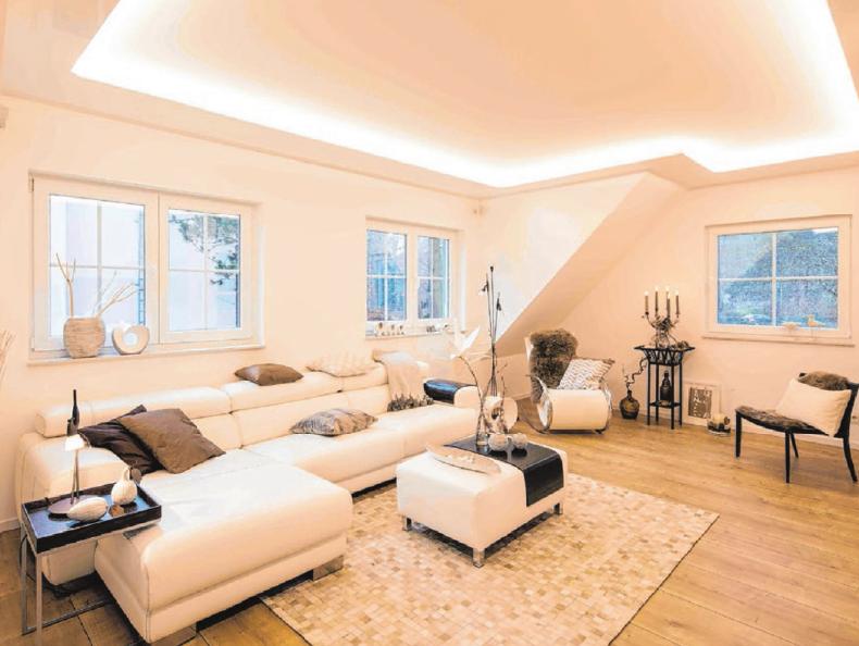 Einen neuen Look fürs Zuhause kann man dank Plameco- Decken schnell und unkompliziert haben. Foto: Plameco