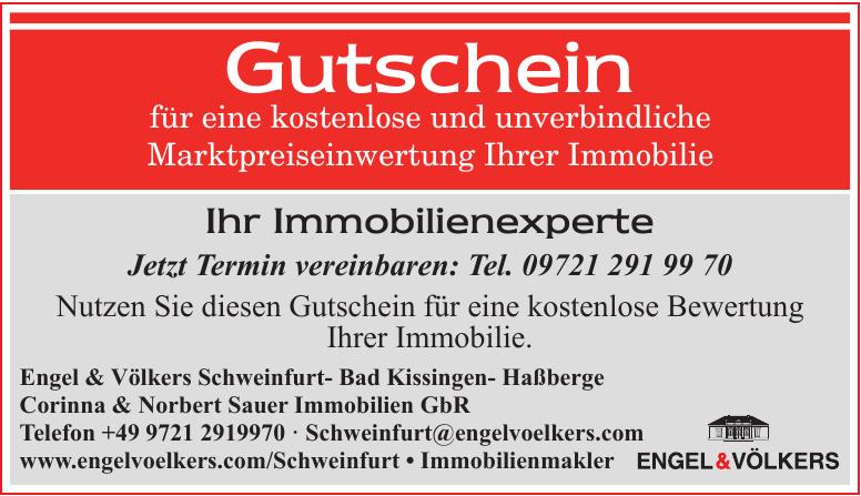 Engel&Völkers Schweinfurt - Bad Kissingen - Haßberge Corinna & Norbert Sauer Immobilien GbR