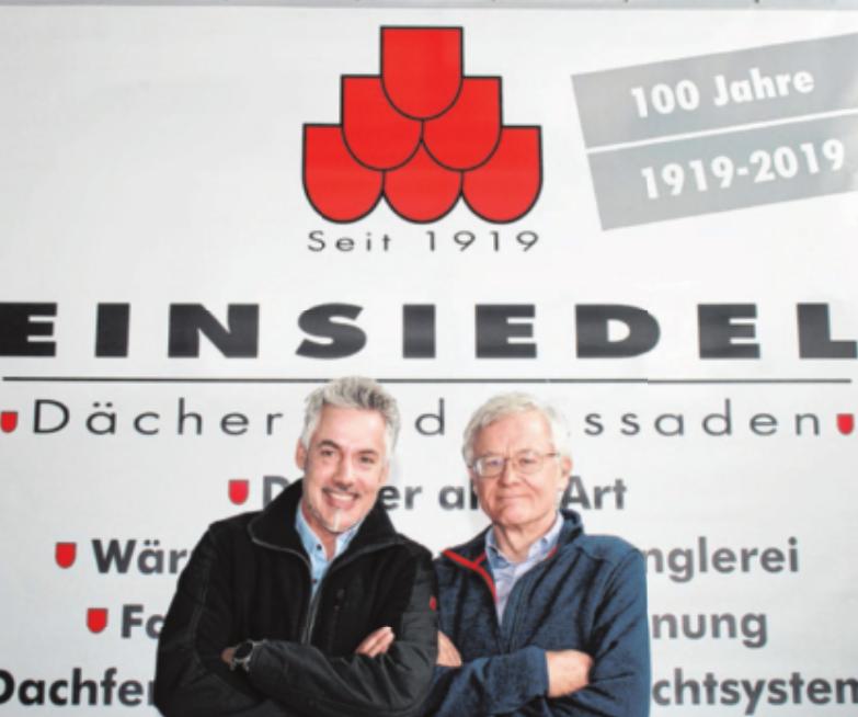 Betriebswirt und Bausachverständiger Marc Einsiedel führt die Geschäfte gemeinsam mit seinem Vater Franz Einsiedel.