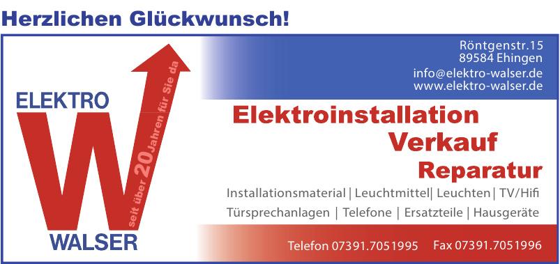 Elektro Walser