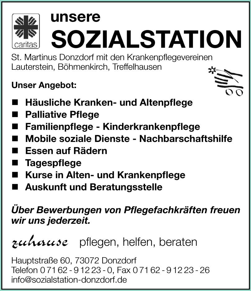 Caritas - Sozialstation Donzdorf