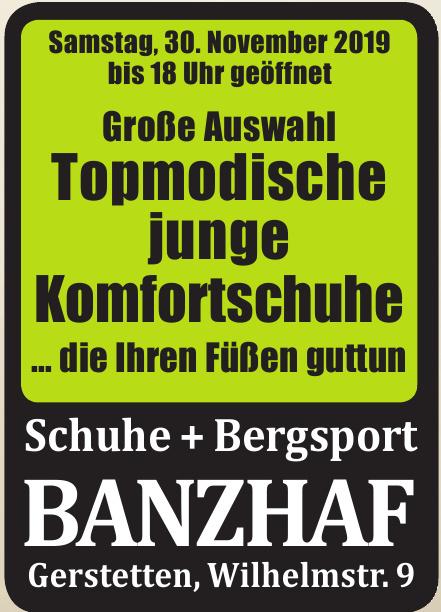 Schuhe + Bergsport Banzhaf