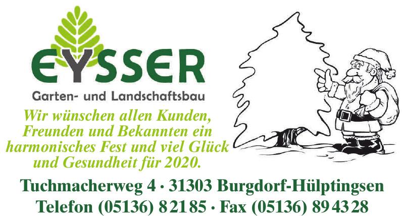 Helmut Eysser Garten- und Landschaftsbau