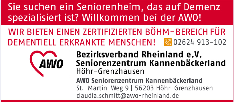 Bezirksverband Rheinland e.V. - Seniorenzentrum Kannenbäckerland