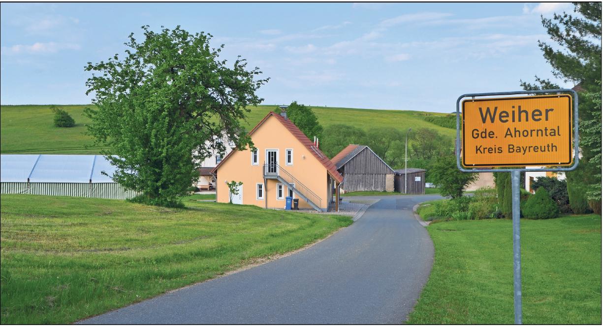 Kleine Ortschaft – große Dorfgemeinschaft: Weiher feiert heute sein Dorffest. Foto: Archiv/privat