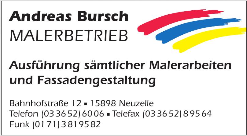 Andreas Bursch Malerbetrieb