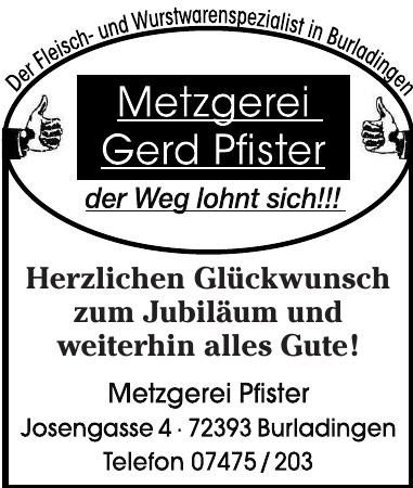 Metzgerei Pfister