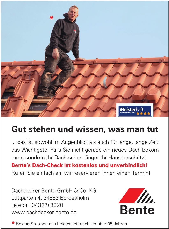 Dachdecker Bente GmbH & Co.KG