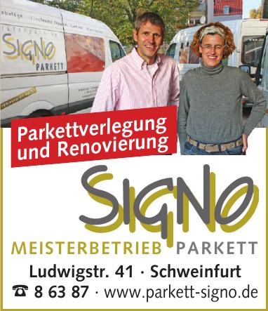 Signo Meisterbetrieb Parkett