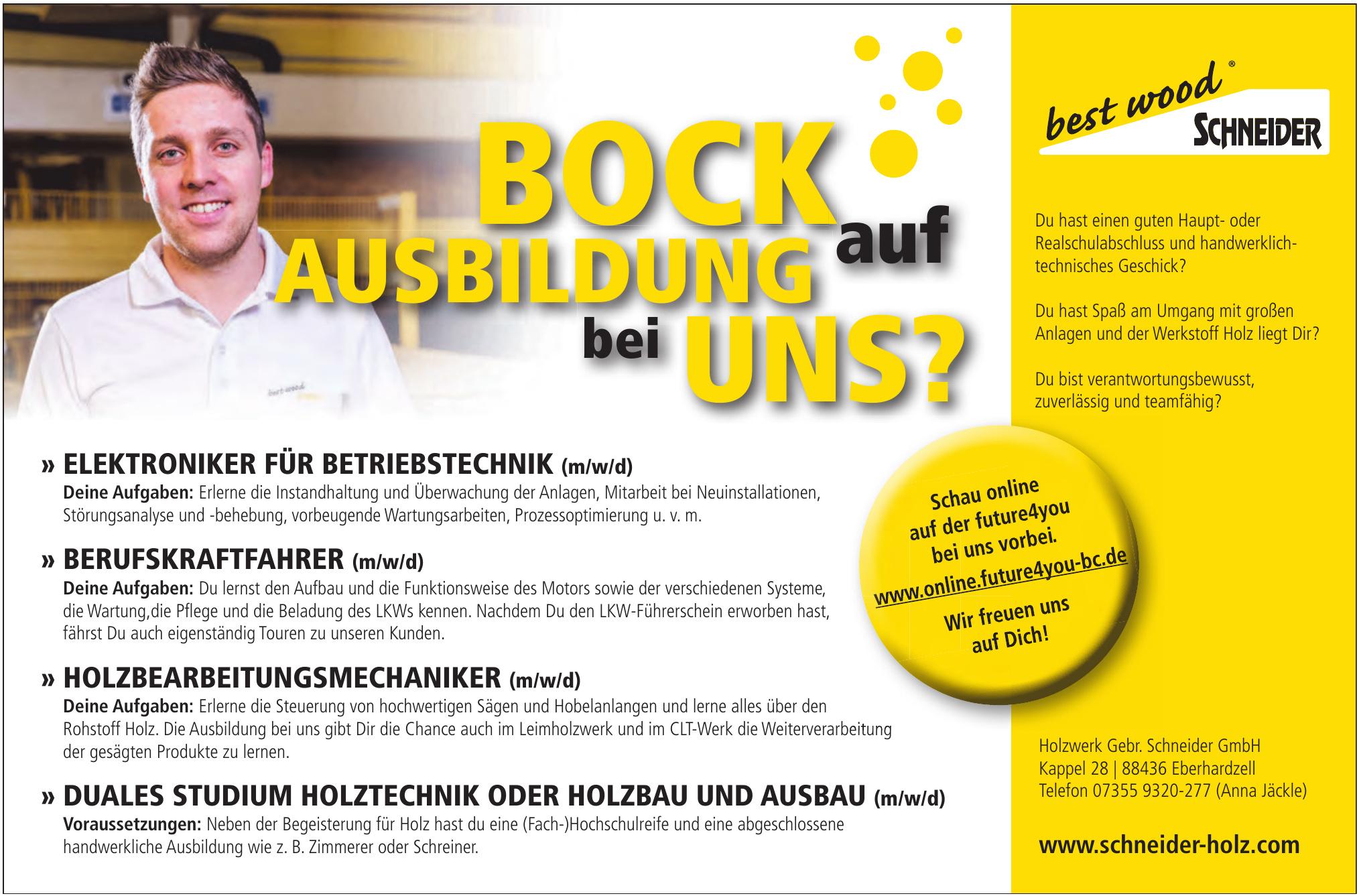 Holzwerk Gebr. Schneider GmbH