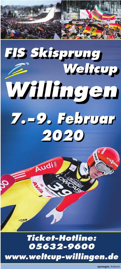 FIS Skisprung Weltcup