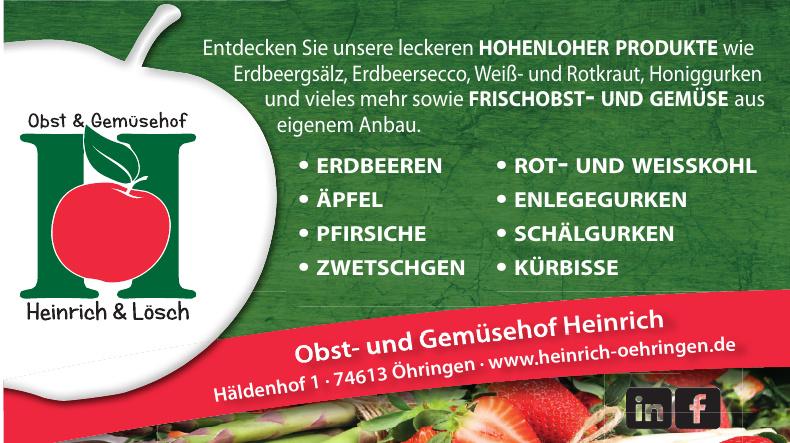 Obst- und Gemüsebau Heinrich