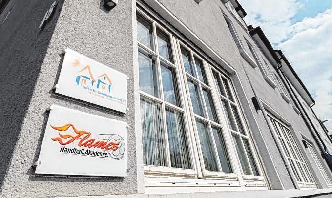 Die Flames-Akademie ist im ehemaligen Hotel Hans an der Rodensteinstraße untergebracht.
