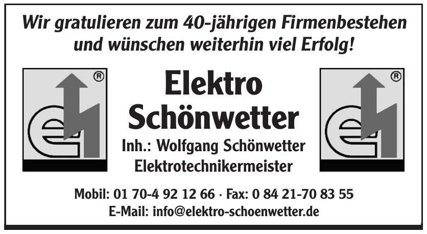 Elektro Schönwetter