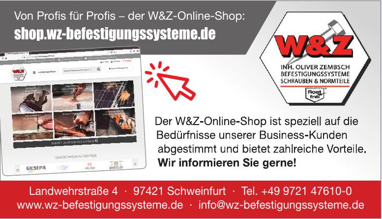 W & Z Befestigungssysteme