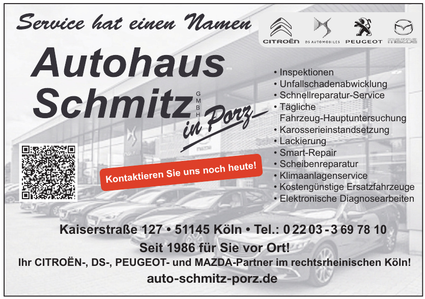 Autohaus Schmitz in Porz