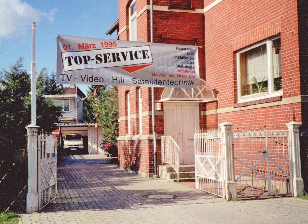 Erster Standort des Top-Service: die Peiner Sundernstraße.