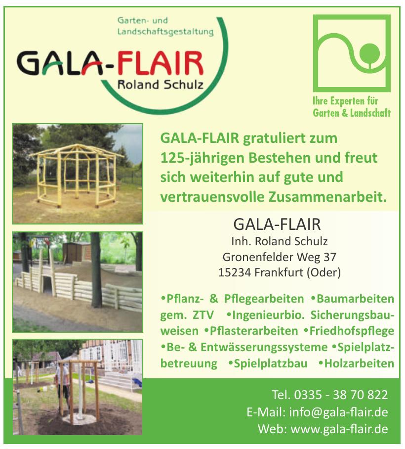 GALA-FLAIR Roland Schulz
