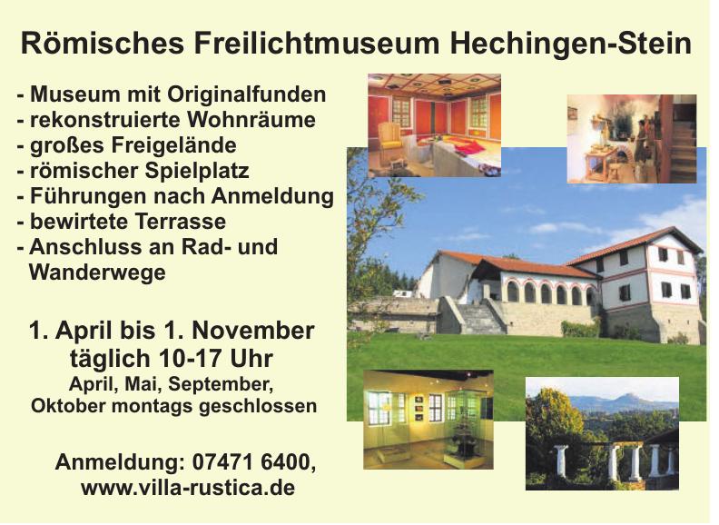 Römisches Freilichtmuseum Hechingen-Stein