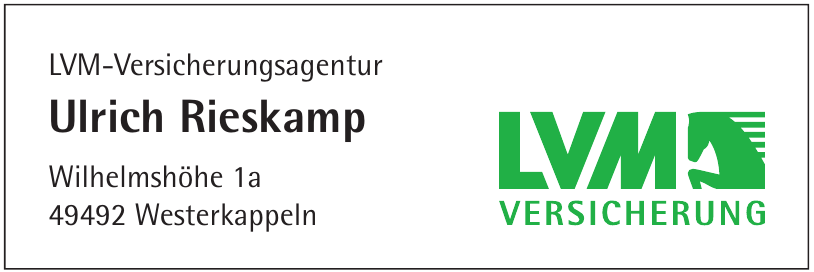 LVM-Versicherungsagentur Ulrich Rieskamp