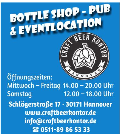 Craft Beer Kontor Hannover