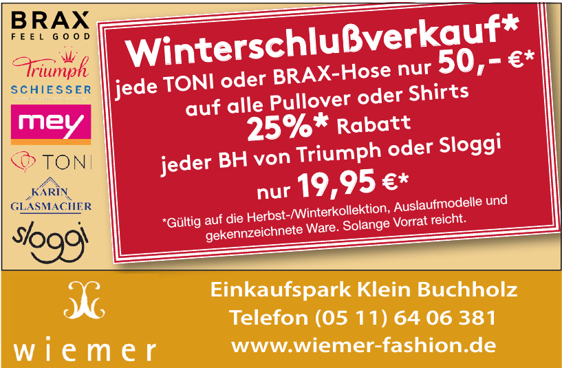 Wiemer Fashion