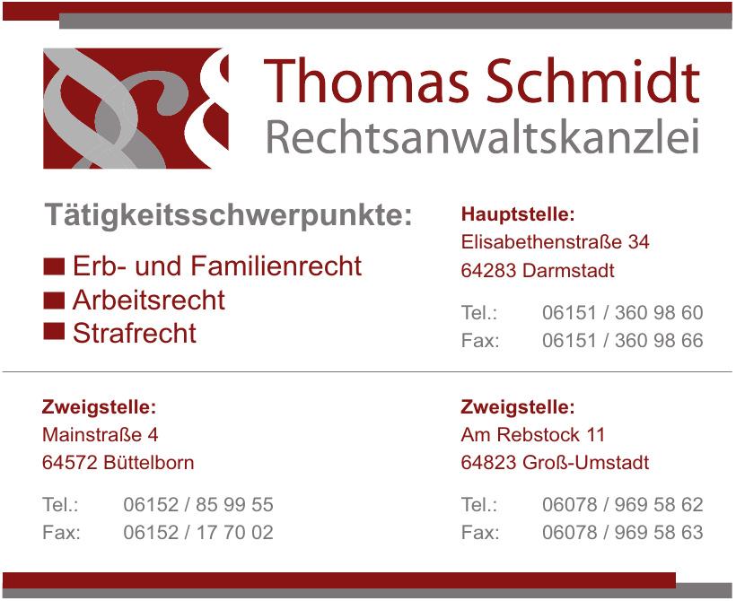 Thomas Schmidt Rechtsanwaltskanzlei