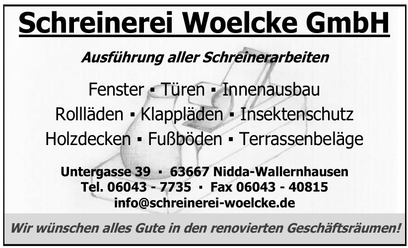 Schreinerei Woelcke GmbH