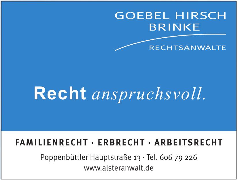 Goebel Hirsch Brinke Rechtsanwälte