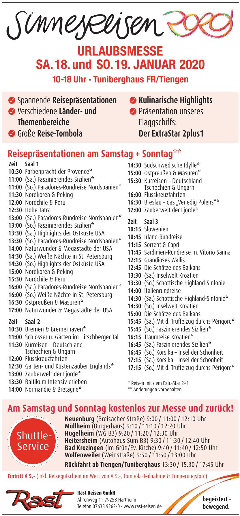 RAST Reisen GmbH