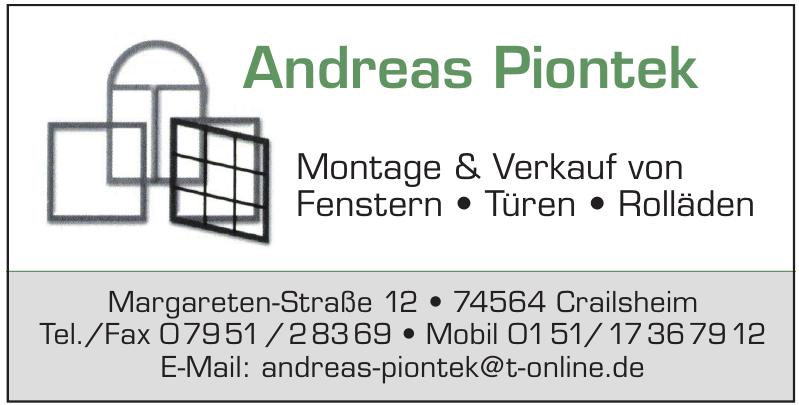 Andreas Piontek