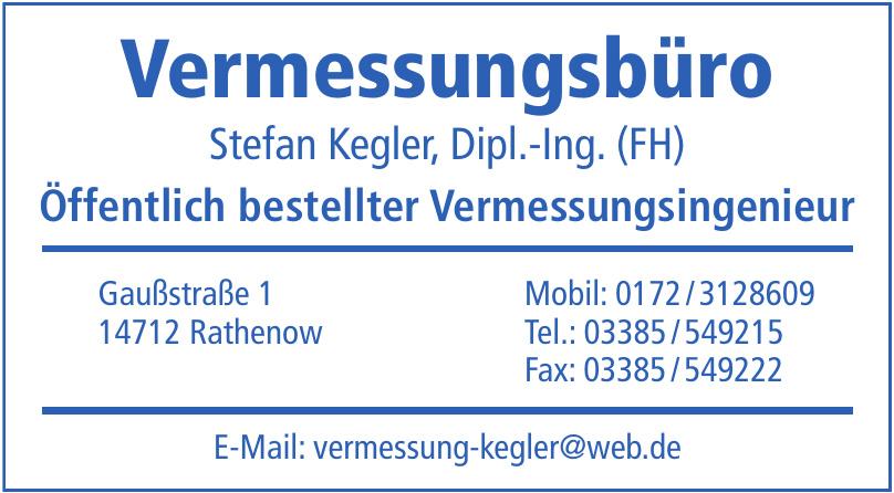 Vermessungsbüro Stefan Kegler, Dipl.-Ing. (FH)