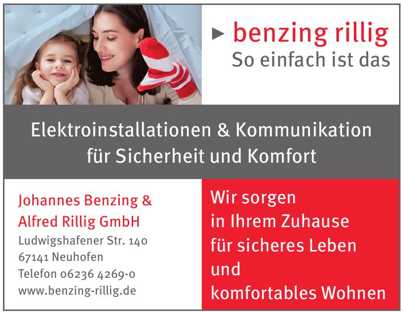 Johannes Benzing & Alfred Rillig GmbH