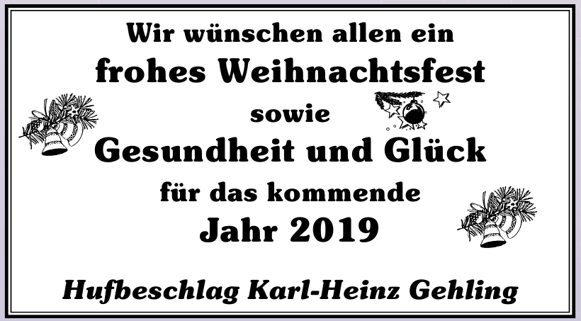 Hufbeschlag Karl-Heinz Gehling