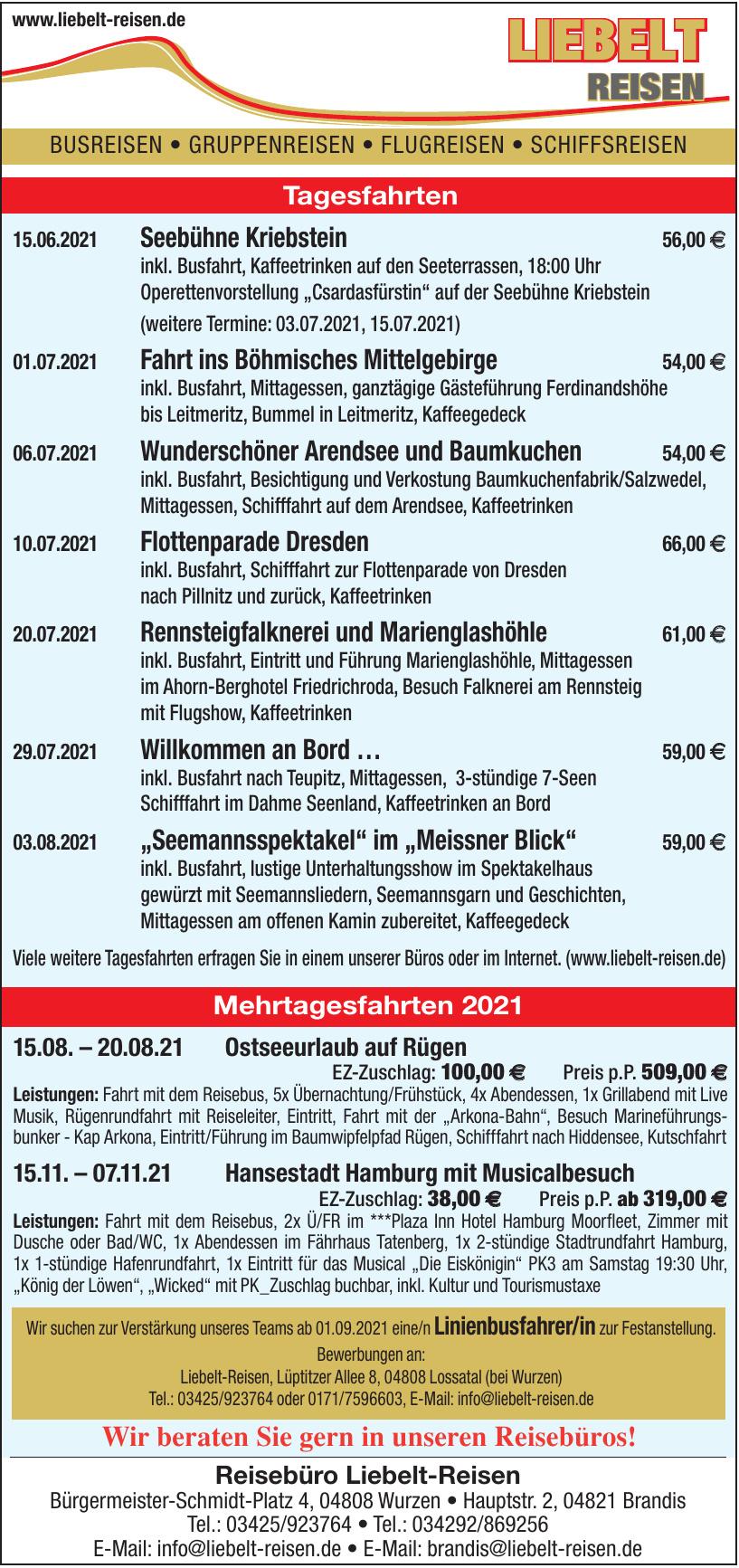 Reisebüro Liebelt-Reisen