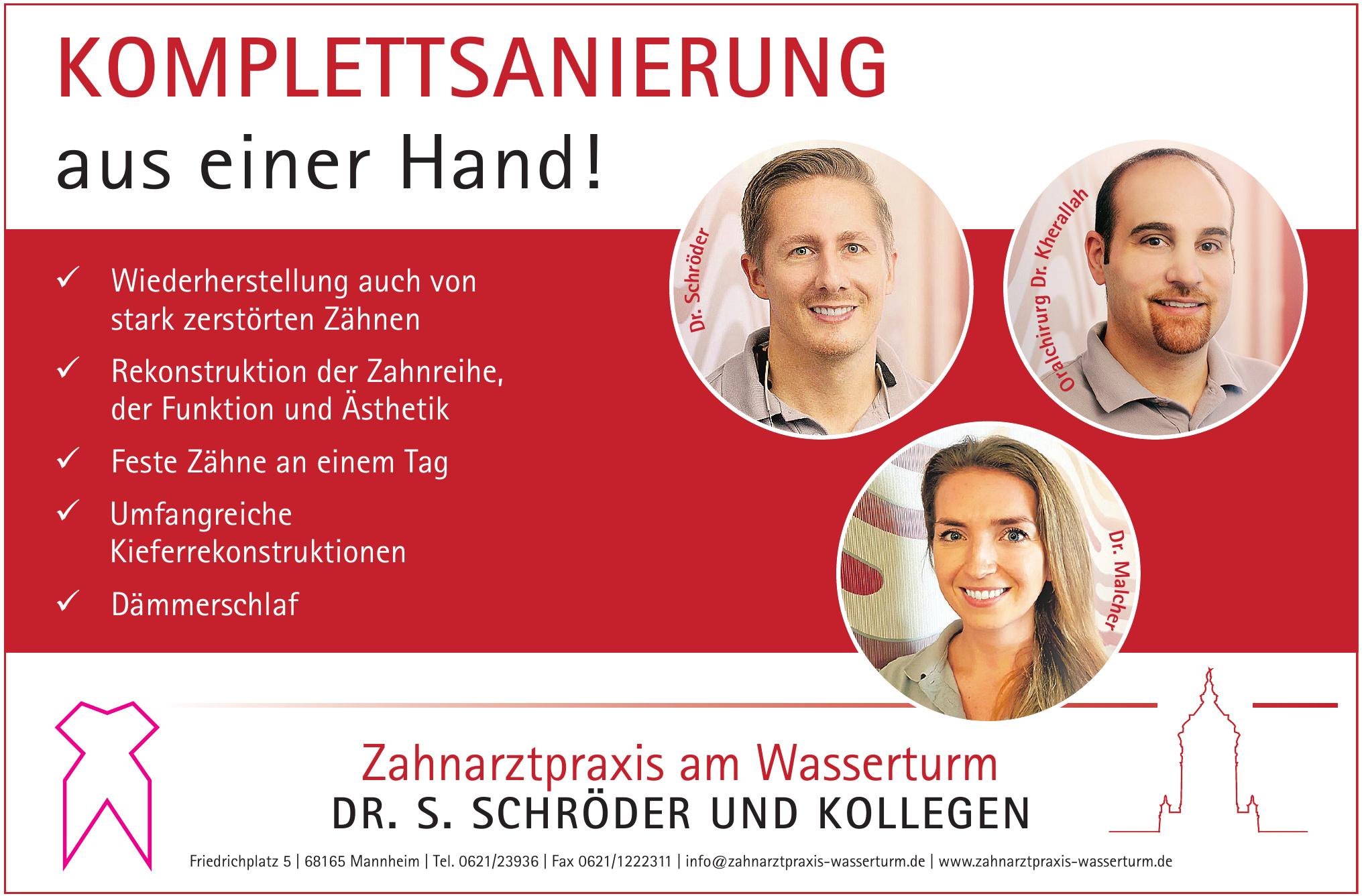Zahnarztpraxis am Wasserturm Dr. S. Schröder und Kollegen