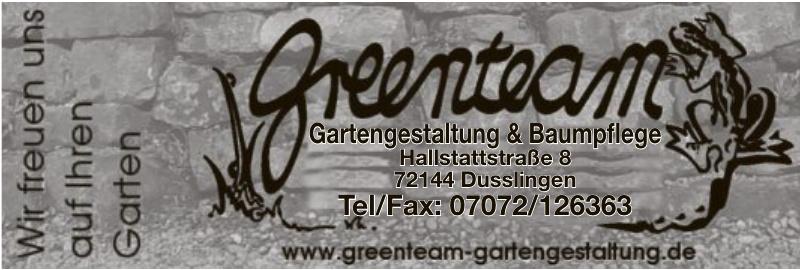 greenteam Gartengestaltung & Baumpflege