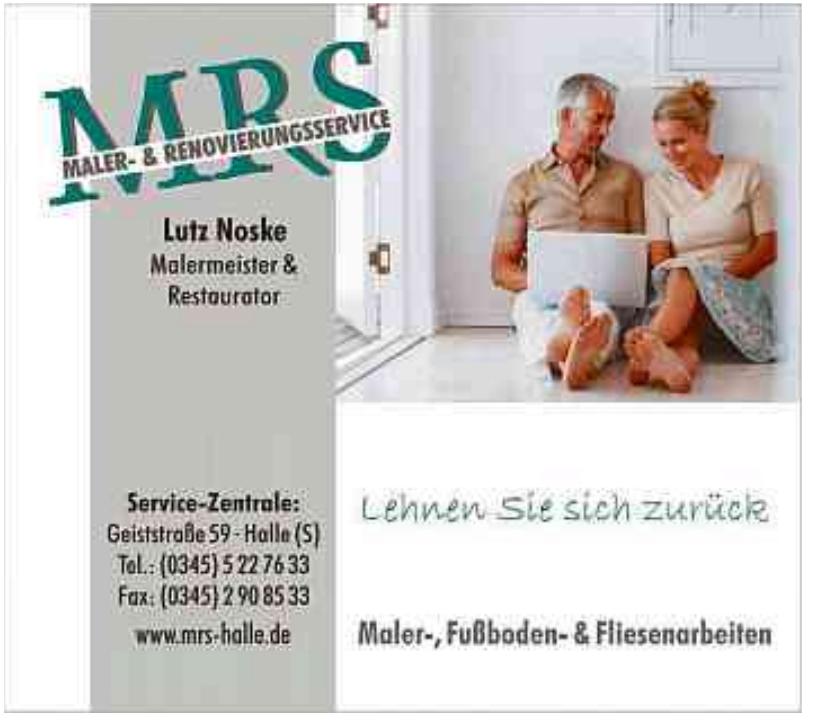 Lutz Noske MRS Maler-& Renovierungsservice